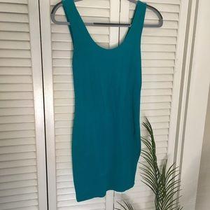 Turquoise Bodycon Dress NWOT